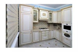 Угловая кухня в классическом стиле БРИОН - Мебельная фабрика «КухниДар»