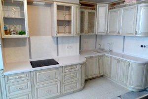 Угловая кухня в пленке пвх - Мебельная фабрика «Акварель»