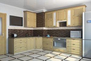 Угловая кухня Валентина - Мебельная фабрика «Рамзес»