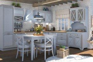 Угловая кухня Венеция лайн - Мебельная фабрика «Ульяновскмебель (Эвита)»