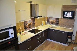 Угловая кухня венге - Мебельная фабрика «Передовые технологии дизайна»