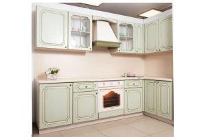 Угловая кухня Винтаж Фисташка - Мебельная фабрика «Хомма»
