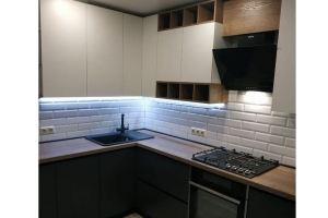 Угловая матовая кухня - Мебельная фабрика «Мебель Хаус»