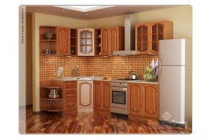 Угловая модульная кухня - Мебельная фабрика «Первомайское»