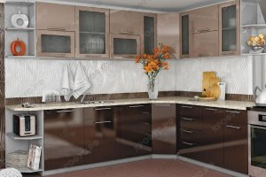 Угловая модульная кухня - Мебельная фабрика «КРОФУС»