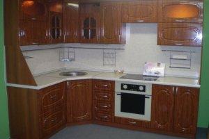 Угловая небольшая кухня - Мебельная фабрика «Агата»