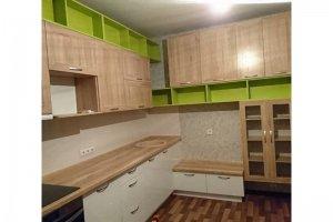 Угловая оригинальная кухня - Мебельная фабрика «Арт Мебель»