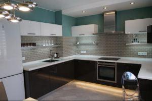 Угловая П-образная кухня - Мебельная фабрика «Мебель +5»