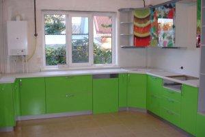 Угловая п-образная кухня - Мебельная фабрика «ДОН-Мебель», г. Волгодонск