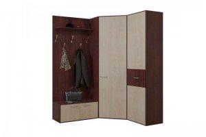Угловая прихожая Бари 3 - Мебельная фабрика «Балтика мебель»