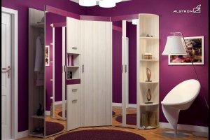 Угловая прихожая Винсента - Мебельная фабрика «Алстром»
