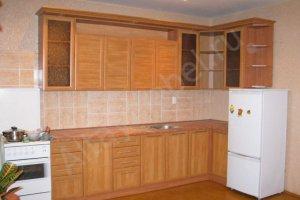 Угловая простая кухня - Мебельная фабрика «Алтай-Командор»