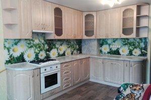 Угловая простая кухня - Мебельная фабрика «Агата»