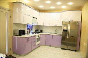 Угловая радиусная кухня - Мебельная фабрика «ДОН-Мебель»