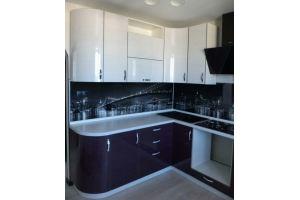 Угловая радиусная кухня - Мебельная фабрика «Мебель РОСТ»
