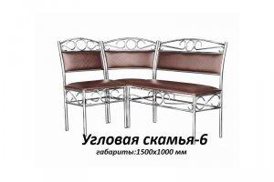 Угловая скамья 6 - Мебельная фабрика «Юлито»
