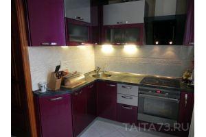 Угловая современная кухня  - Мебельная фабрика «Таита»