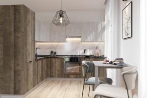 Угловая современная кухня Бостон 1 - Мебельная фабрика «Эстель»