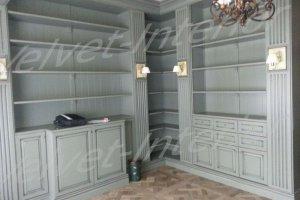Угловая стенка - Мебельная фабрика «Velvet-Interior»
