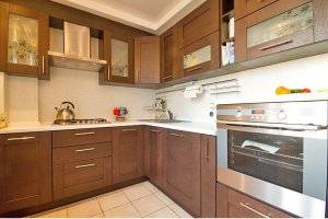 Угловая стильная кухня - Мебельная фабрика «Ленинградская мебельная фабрика»