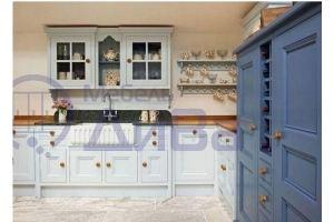 Угловая Винтажная кухня - Мебельная фабрика «ДиВа мебель»