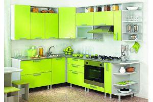 Угловая яркая кухня 19 - Мебельная фабрика «Модерн»