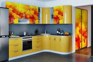 Угловая яркая кухня - Мебельная фабрика «ДОН-Мебель»