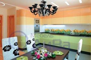 Угловая яркая Кухня Фьюжн - Мебельная фабрика «ДиВа мебель»