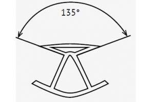 Угловое соединение 135 сталь ПЭ0512 - Оптовый поставщик комплектующих «МФС 77»