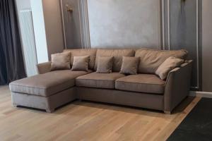 Угловой диван без декора - Мебельная фабрика «Союз мастеров»