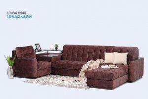 Угловой диван Адриатика шезлонг - Мебельная фабрика «Империя Идей»