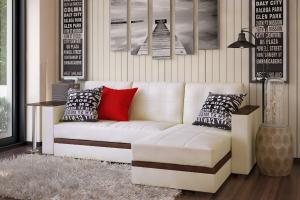 Угловой диван Атлант кожа - Мебельная фабрика «Атлант»
