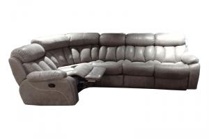 угловой диван Азалия с креслом-реклайнером - Мебельная фабрика «Экодизайн»