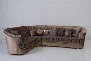 Угловой диван Бенедикт - Мебельная фабрика «Агама»
