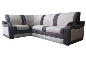 Угловой диван без бара Мадрид - Мебельная фабрика «Фортуна плюс»