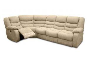 Угловой диван Манчестер 3+1 со спальным местом и реклайнером - Мебельная фабрика «Bo-Box»