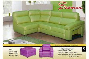 Угловой диван Бостон - Мебельная фабрика «Новый Стиль»