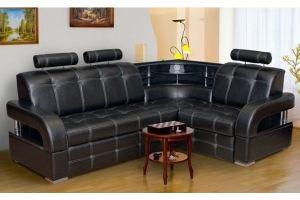 Угловой диван Бостон-5 с подголовниками - Мебельная фабрика «Катрина»