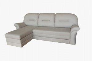 Угловой диван Брюс с оттоманкой - Мебельная фабрика «Амплуа»