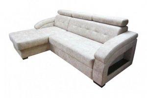 Угловой диван дельфин Джулия - Мебельная фабрика «Нико»