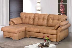 Угловой диван дельфин Лестер 2 - Мебельная фабрика «Катрина»