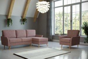 Угловой диван Джульет Скандинавия - Мебельная фабрика «Woodcraft»