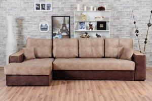 Диван Эдинбург Д3 с оттоманкой - Мебельная фабрика «Мягкофф»