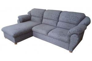 Угловой диван Елена 5 с оттоманкой - Мебельная фабрика «Ирис»