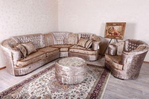 Угловой диван Фараон с креслом и пуфом - Мебельная фабрика «ВИАР»