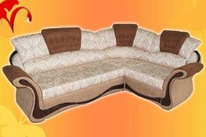 Диван угловой Фрегат( с мягким баром) - Мебельная фабрика «Натали»