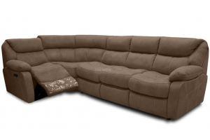 Угловой диван Инфинити с реклайнером - Мебельная фабрика «Bo-Box»