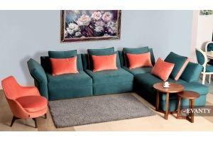 Угловой диван Johny - Мебельная фабрика «EVANTY»