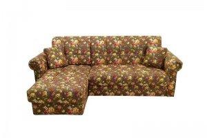 Угловой диван Кардинал-5 с классическими подлокотниками - Мебельная фабрика «Карина»