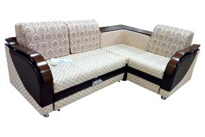 Угловой диван Комфорт с баром - Мебельная фабрика «АВА»